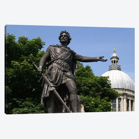William Wallace Statue Canvas Print #3682} by Unknown Artist Canvas Print