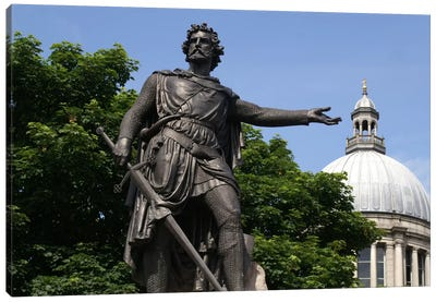 William Wallace Statue Canvas Art Print