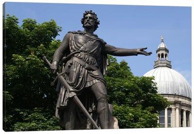 William Wallace Statue Canvas Art Print