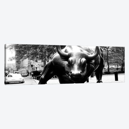 Wall Street Bull Close-up Canvas Print #3686PAN} by Unknown Artist Canvas Art Print
