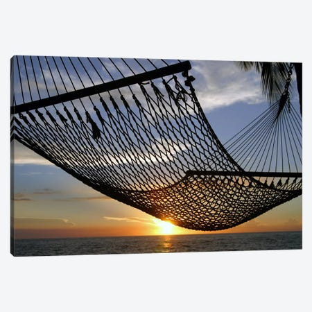 Hawaii Sunset Canvas Print #41} Canvas Art Print