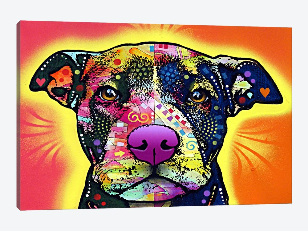 Love A Bull by Dean Russo 1-piece Art Print