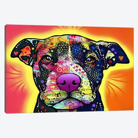 Love A Bull Canvas Print #4202} by Dean Russo Canvas Wall Art