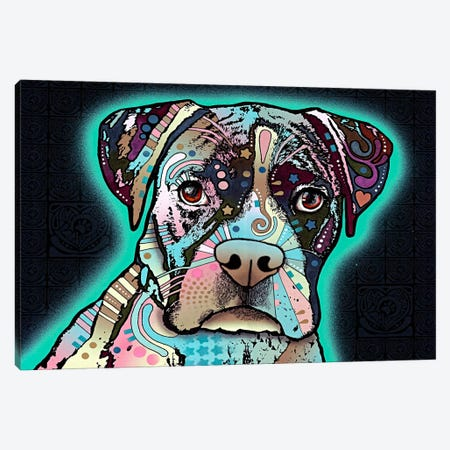 Love Thy Boxer Canvas Print #4203} by Dean Russo Canvas Art