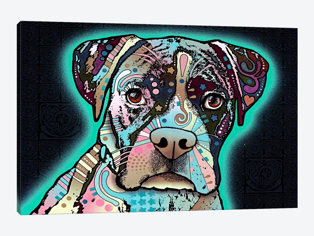 Love Thy Boxer by Dean Russo 1-piece Canvas Art