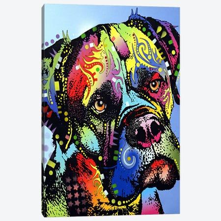 Mastiff Warrior Canvas Print #4204} by Dean Russo Canvas Print