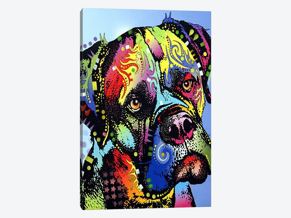 Mastiff Warrior by Dean Russo 1-piece Art Print