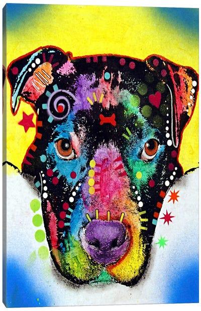 Otter Pit Bull Canvas Print #4205