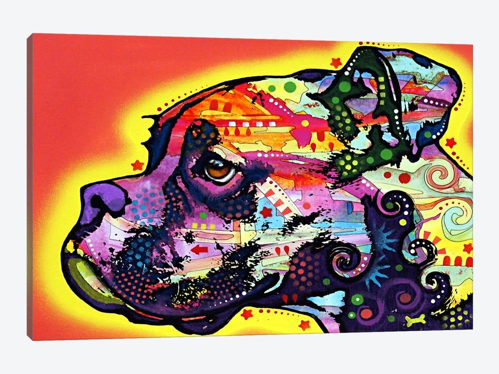 Profile Boxer by Dean Russo 1-piece Canvas Art Print