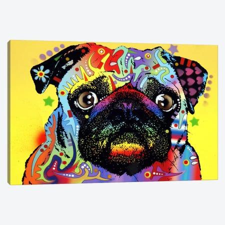 Pug Canvas Print #4207} by Dean Russo Canvas Art Print