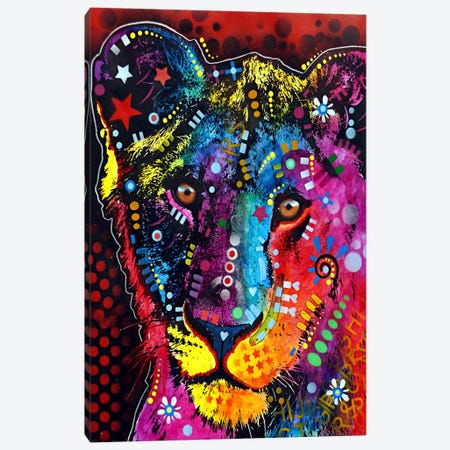 Young Lion Canvas Print #4216} by Dean Russo Canvas Artwork