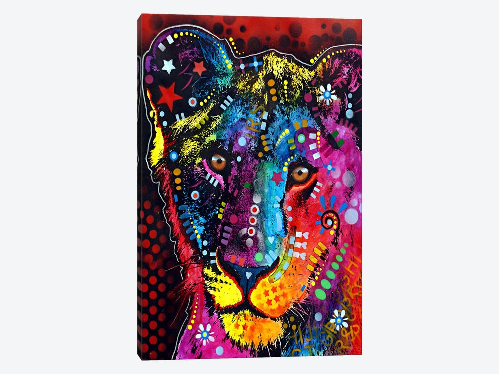 Young Lion by Dean Russo 1-piece Canvas Artwork