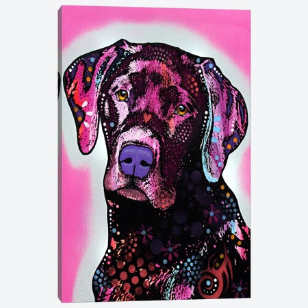 Black Lab Canvas Print #4219} by Dean Russo Art Print