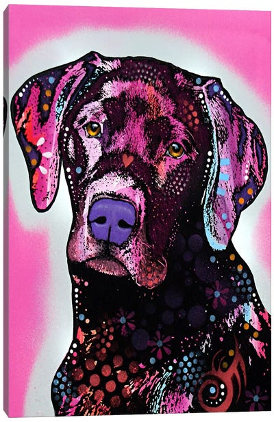 Black Lab Canvas Print #4219