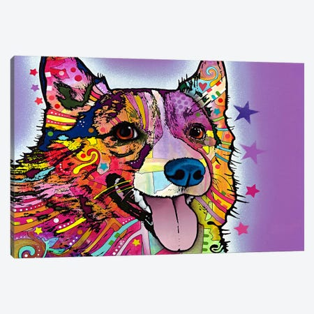 Corgi Canvas Print #4220} by Dean Russo Canvas Art