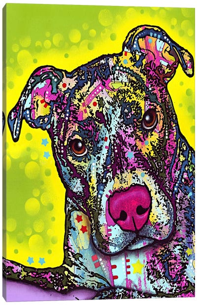 Brindle Canvas Art Print