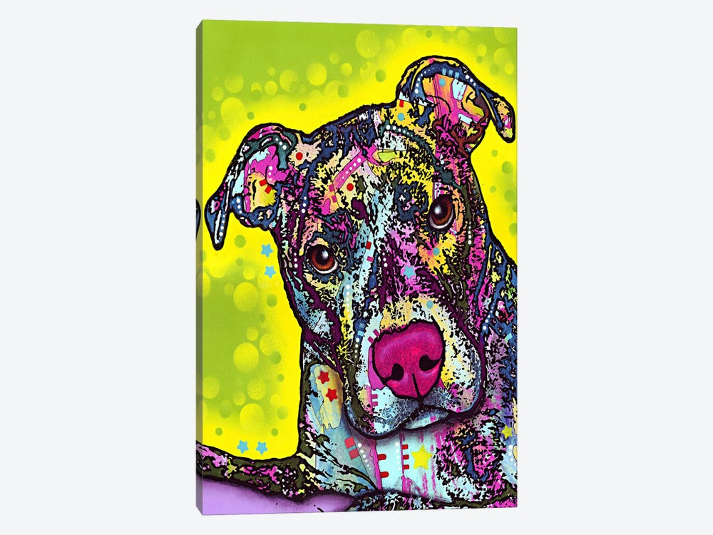 Brindle by Dean Russo 1-piece Art Print