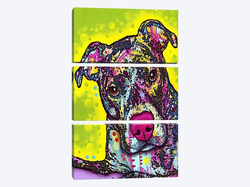 Brindle by Dean Russo 3-piece Art Print