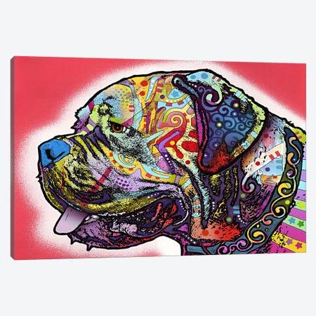 Profile Mastiff Canvas Print #4228} by Dean Russo Canvas Art