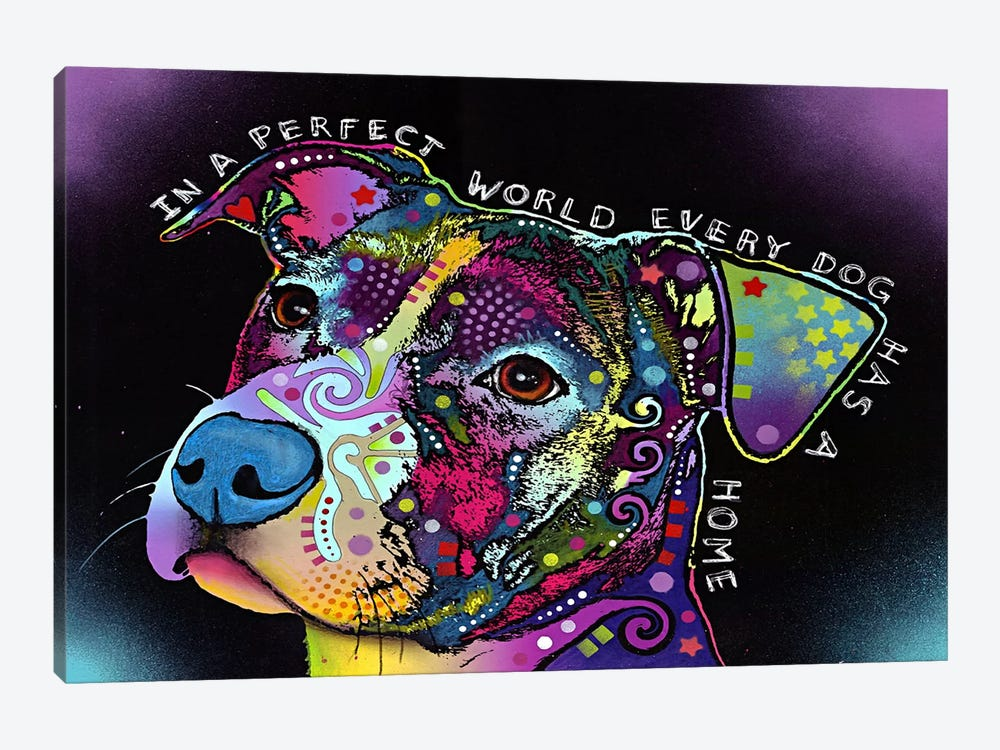 In a Perfect World 1-piece Canvas Wall Art