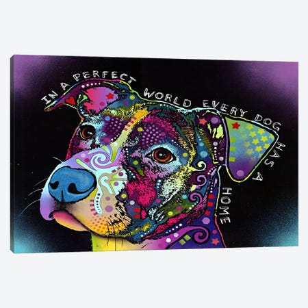 In a Perfect World Canvas Print #4232} by Dean Russo Art Print