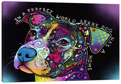 In a Perfect World Canvas Art Print