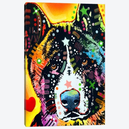 Akita Canvas Print #4233} by Dean Russo Art Print