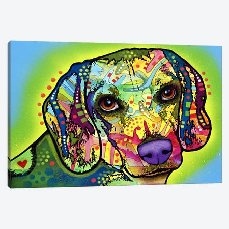 Beagle Canvas Print #4234} by Dean Russo Canvas Artwork
