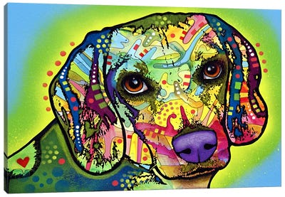 Beagle by Dean Russo Canvas Artwork