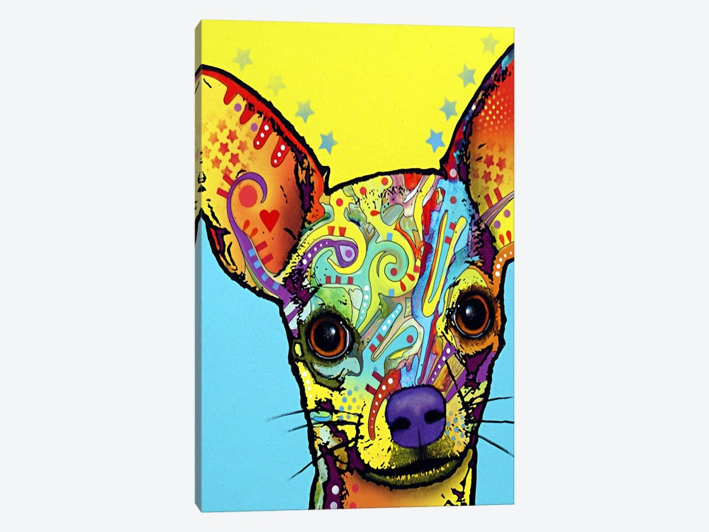 Chihuahua l by Dean Russo 1-piece Canvas Print