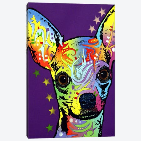 Chihuahua ll Canvas Print #4240} by Dean Russo Canvas Wall Art