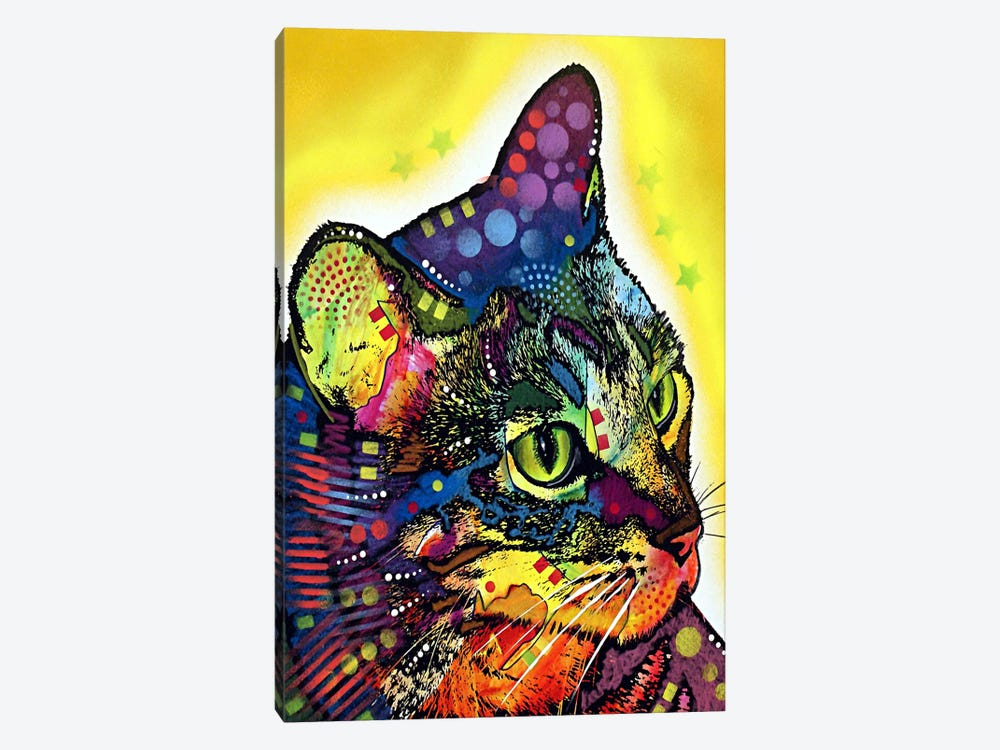 Confident Cat by Dean Russo 1-piece Canvas Art Print