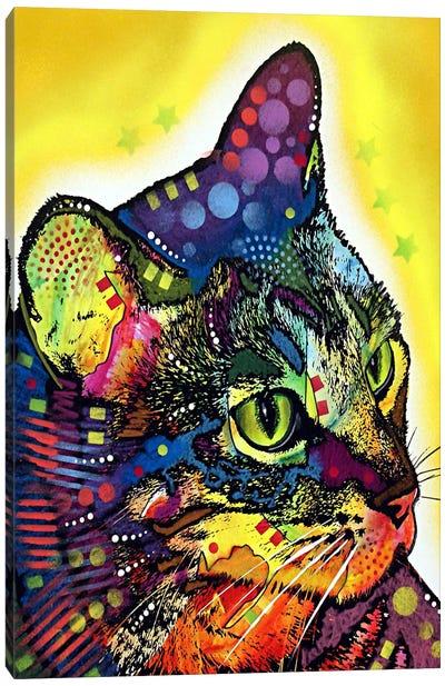 Confident Cat Canvas Art Print