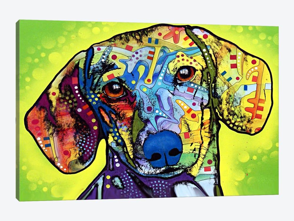 Dachshund by Dean Russo 1-piece Canvas Print