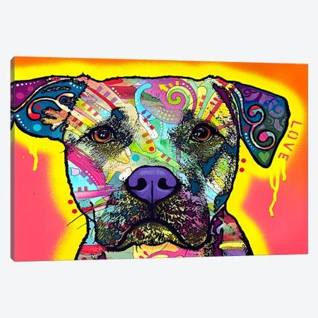 Drip Love Canvas Print #4245} by Dean Russo Canvas Print