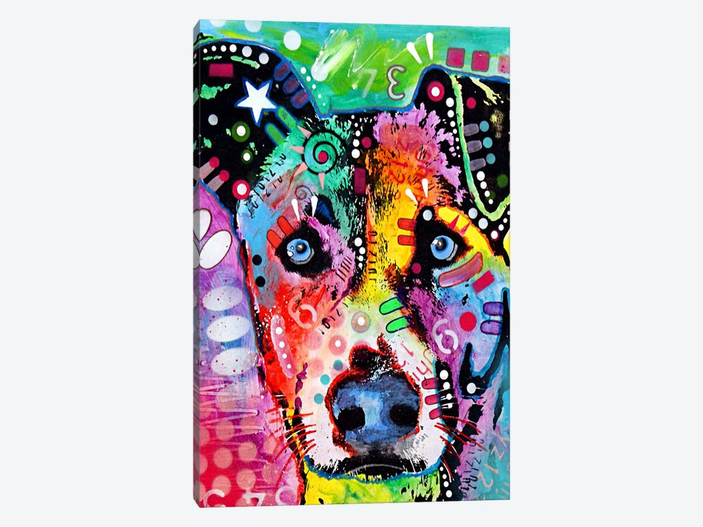 Flipped by Dean Russo 1-piece Canvas Print