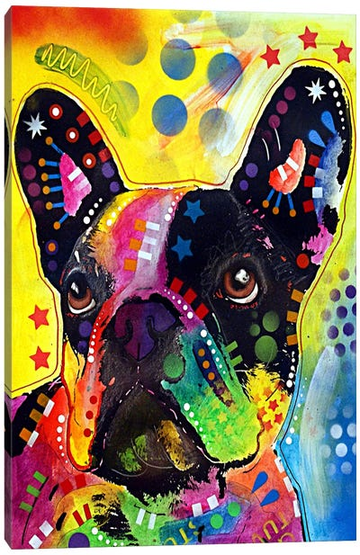 French Bulldog Canvas Print #4247