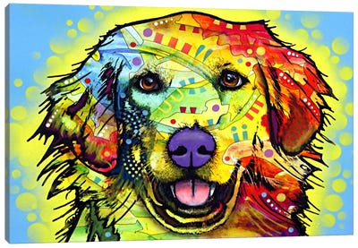 Golden Retriever by Dean Russo Canvas Artwork