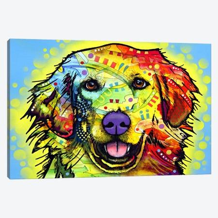 Golden Retriever Canvas Print #4249} by Dean Russo Canvas Artwork