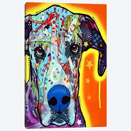 Great Dane Canvas Print #4250} by Dean Russo Canvas Art Print