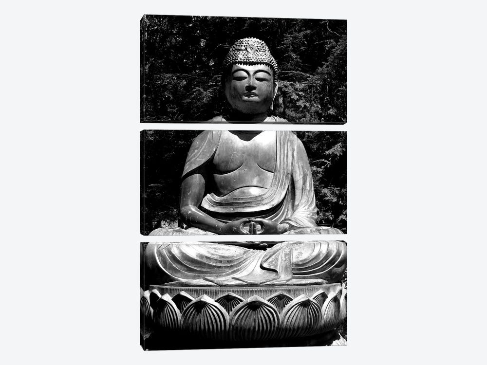 Asian Buddha 3-piece Canvas Art