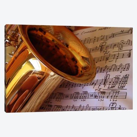 Gold Saxophone Canvas Print #43} by Unknown Artist Art Print