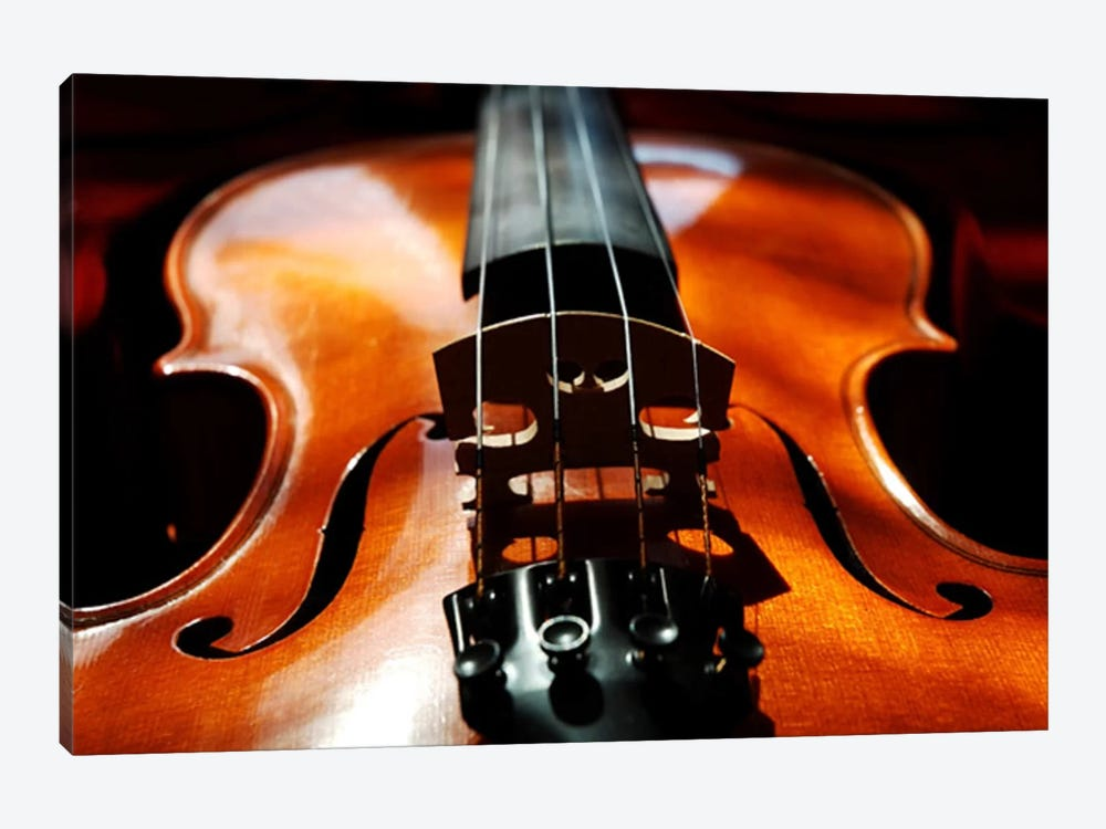 Violin by Unknown Artist 1-piece Canvas Wall Art