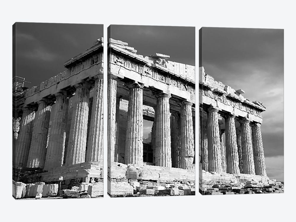 Parthenon Athens 3-piece Canvas Artwork