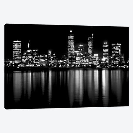 Downtown City Canvas Print #47} Canvas Wall Art