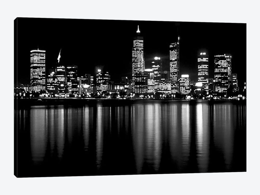 Downtown City by Unknown Artist 1-piece Canvas Print