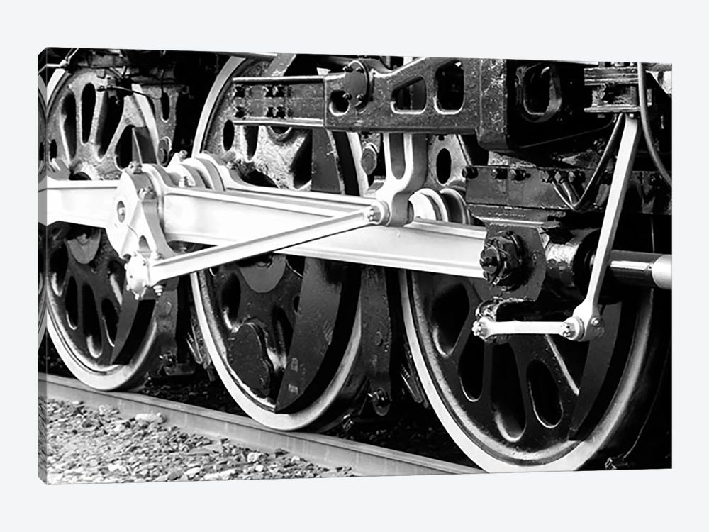 Antique Train by Unknown Artist 1-piece Canvas Artwork