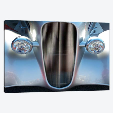 Hot Rod 3-Piece Canvas #49} by Unknown Artist Canvas Print