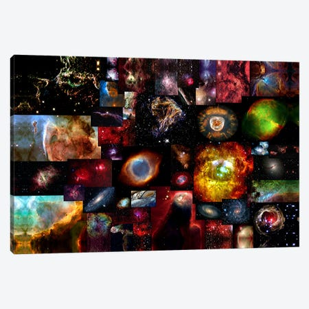 The Universe Canvas Print #4} by Unknown Artist Art Print