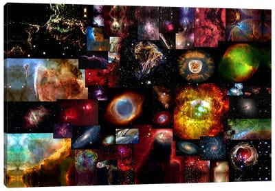 The Universe Canvas Art Print